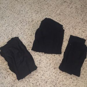 3 sets of panty hoes